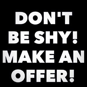 Other - 🤗Offers Always welcome🤗